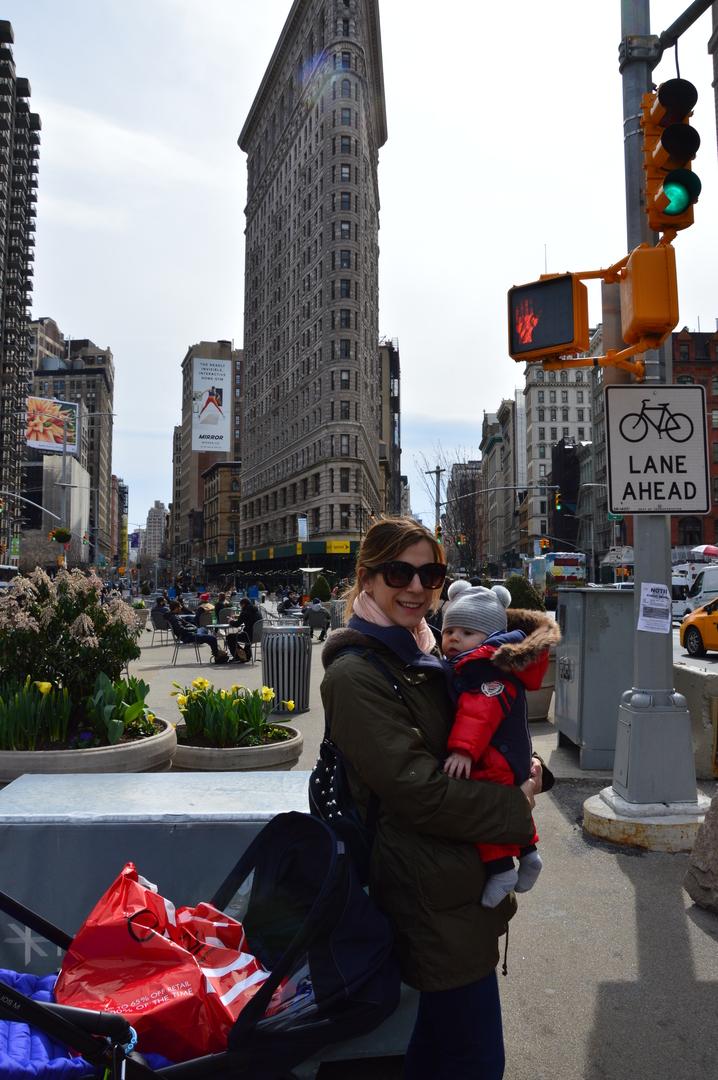 volare con un neonato e arrivare a New York