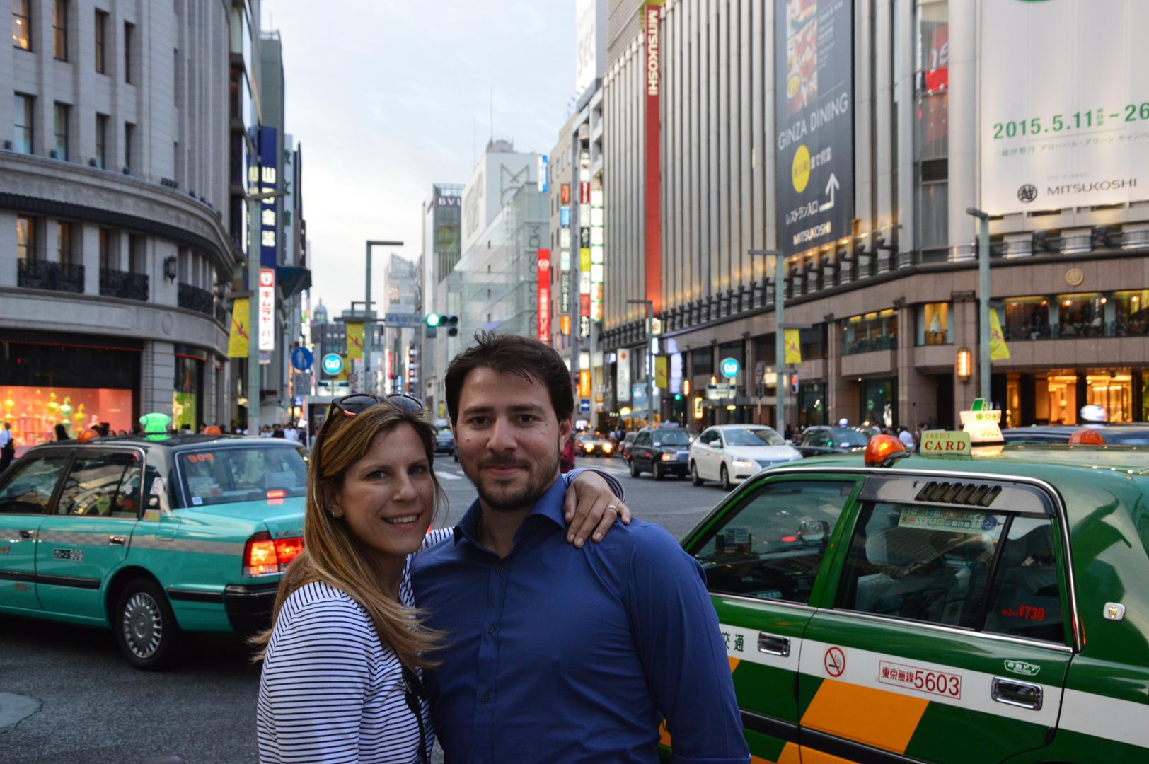 primo viaggio in Giappone: tra i negozi e le strade animate di Ginza